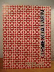 """Labin, Clemencia:  Clemencia Labin. Replay - este catalogo es publicado para la exposicion """"Vaivén"""" en el Museo Alejandro Otero, Complejo Cultural la Rinconada, Caracas"""