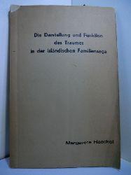 Haeckel, Margarete:  Die Darstellung und Funktion des Traumes in der isländischen Familiensaga. Dissertation zur Erlangung der Doktorwürde der Philosophischen Fakultät der Hamburgischen Universität
