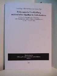Coppi, Hans, Winfried Meyer und Iris Schwarz (Hrsg.):  Elektronische Erschließung archivalischer Quellen in Gedenkstätten. Beiträge des internationalen Workshops in der Gedenkstätte und dem Museum Sachsenhausen am 23. / 24. März 2001