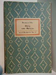 Bahr, Hermann:  Dialog vom Marsyas. Insel-Bücherei Nr. 67
