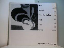 Hesse-Frielinghaus, Herta und Vorwort: Dr. H. Hesse:  Der junge van de Velde und sein Kreis 1883 - 1893. Katalog. Ausstellung 18. Oktober - 22 November 1959