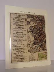 Klünner, Hans-Werner und Helmut Börsch-Supan (Hrsg.):  Berlin-Archiv. Lieferung BE 01017. Stadtplan von Spandau für Bebauung und Verkehr, 1913. Faksimile
