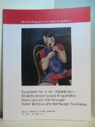 Weimar, Friederike:  Kunstsammler in den Walddörfern. Kinderbildnisse tanzen Ringelreihen. Werke aus den Sammlungen Dieter Boretius und Hamburger Sparkasse. Ausstellung Haspa, Volksdorf, Im Alten Dorfe 41, 18. April - 25. Mai 2012