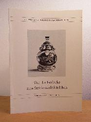 Schneider, Jenny:  Von der Berlocke zum Stricknadelstiefelchen. Modisches Beiwerk des 18. und 19. Jahrhunderts