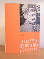 Musei civici veneziani:  Bollettino dei musei civici veneziani. N. 3, 1958