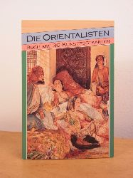 Ohne Autor:  Die Orientalisten. Buch mit 30 Kunstpostkarten