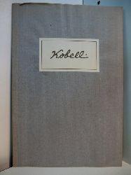 Schloss Mannheim:  Ferdinand Kobell, Franz Kobell und Wilhelm Kobell. Gemälde, Aquarelle und Handzeichnungen. Ausstellung Städtische Museen Mannheim, Schlossmuseum, 29. April - 4. Juni 1950