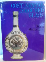 Middlemas, Keith:  Continental Coloured Glass (Collector`s World in Colour)