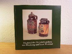 Wittstock, Jürgen und Simone Wiechers (Redaktion):  Töpferei des 19. Jahrhunderts aus Marburg und dem Werratal. Marburger Universitätsmuseum für Kunst und Kulturgeschichte in Zusammenarbeit mit dem Thüringer Museum Eisenach