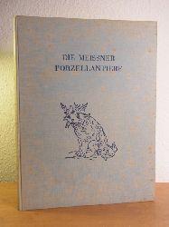 Albiker, Carl:  Die Meissner Porzellantiere im 18. Jahrhundert. Ausgabe von 1935