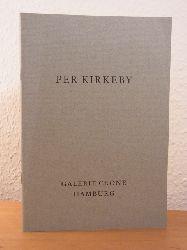 Kirkeby, Per:  Per Kirkeby. Neue Bilder und Atlas-Serie. Ausstellung Galerie Crone Hamburg 1982