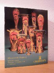 Christie`s London:  Moorcroft Pottery. Auction 13 October 1994, Christie`s South Kensington, London. Sale Code: AND-6636