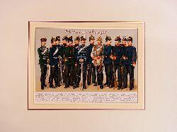 Kirmse, Gustav:  VII. Armee-Corps. Farbige Chromolithographie unter Passepartout