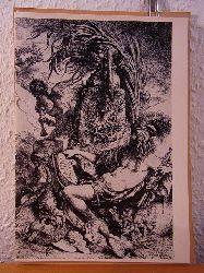Stubbe, Wolf, Dr. Rolf Kultzen und  Hamburger Kunsthalle:  Die italienische Graphik des Barock. Ausstellung aus den Beständen des Kupferstichkabinetts, Hamburger Kunsthalle, August und September 1956
