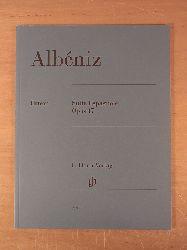 Albéniz, Isaac - herausgegeben von Ullrich Scheideler:  Albéniz. Suite Espagnole. Opus 47. Urtext