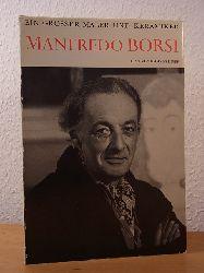 Reyer, Georges:  Manfredo Borsi. Ein grosser Maler und Keramiker