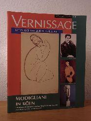 "Behn, Dr. Helga, Dr. Gerhard Kolberg und Hans Burkert:  Vernissage. Ausgabe 2 / 1994. Modigliani in Köln. ""Der unbekannte Modigliani - die Sammlung Doktor Paul Alexandre"", Ausstellung Museum Ludwig Köln, 16.04. bis 10.07.1994"