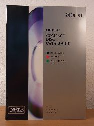 Orfeo International Music:  Orfeo Compact Disc Catalogue 2000 / 2001. Orfeo Classic, Orfeo d`Or, Musica Rediviva