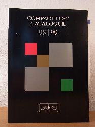 Orfeo International Music:  Orfeo Compact Disc Catalogue 1998 / 1999