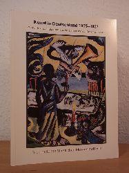 März, Roland, Anita Beloubek-Hammer, Friedegund Weidemann und Lothar Brauner:  Kunst in Deutschland 1905 - 1937. Gemälde und Skulpturen aus der Sammlung der Nationalgalerie. Ausstellung Alte Nationalgalerie, Museumsinsel, März - Dezember 1992