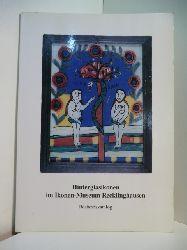 Haustein-Bartsch, Eva:  Hinterglasikonen im Ikonen-Museum Recklinghausen. Bestandskatalog