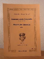 Couperin, Armand-Louis:  Couperin. Pièces de Clavecin. Band 1 - Deuxième Livre. Für Cembalo - for Harpsichord. Collection Thierry Mathis