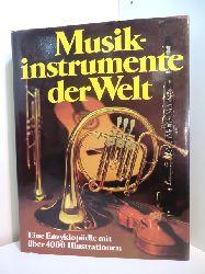 Baumgartner, Alfred und The Diagram Group:  Musikinstrumente der Welt. Eine Enzyklopädie mit über 4000 Illustrationen