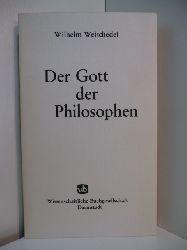Weischedel, Wilhelm:  Der Gott der Philosophen. Grundlegung einer philosophischen Theologie im Zeitalter des Nihilismus. Band 2: Abgrenzung und Grundlegung