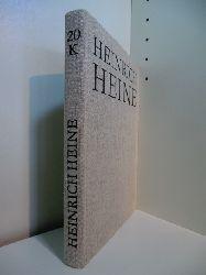 Heine, Heinrich - bearbeitet von Fritz H. Eisner und Fritz Mende:  Heinrich Heine Säkulärausgabe. Werke, Briefwechsel, Lebenszeugnisse. Band 20: Kommentar: Briefe 1815 - 1831
