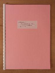 Pflegekolonie Kreis Waldeck in Hessen:  Bericht über die Bereisung der Pflegekolonie Kreis Waldeck in Hessen im April 1951