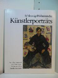 Wietek, Gerhard (Hrsg.):  Schleswig-Holsteinische Künstlerporträts aus dem Bestand des Schleswig-Holsteinischen Landesmuseums. Ausstellung Schleswig-Holsteinisches Landesmuseum Schloß Gottorf in Schleswig, 06.12.1981 - 31.01.1982