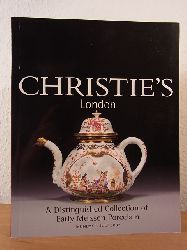 Christie`s London:  A Distinguished Collection of Early Meissen Porcelain and Continental Ceramics. Auction 8 July 2002, Christie`s, London. Auction Code: PARTRIDGE-6607