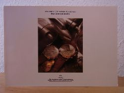 Manufacture Jaeger-LeCoultre SA:  Jaeger-LeCoultre. Odysseus. Die neuen Klassiker. Der Chronograph. Katalog 1988 mit Preisliste DM März 1988