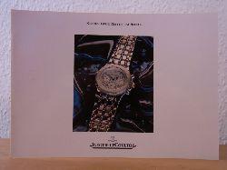 Manufacture Jaeger-LeCoultre SA:  Jaeger-LeCoultre. Kyros. Neue Zeiten im Sport. Katalog 1988 mit Preisliste DM Februar 1991