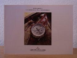 Manufacture Jaeger-LeCoultre SA:  Jaeger-LeCoultre. Géographique. Eine Reise um die Welt in 24 Stunden. Katalog 1990 mit Preisliste DM Februar 1991