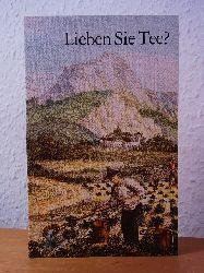 Adrian, Hans G.:  Lieben Sie Tee? Eine kleine Teekunde, vom Teesamen bis zur Tassenpobe und zum Teerezept, in acht Kapiteln dargestellt