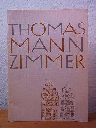 Dr. Soenke:  Wegweiser durch das Thomas-Mann-Zimmer im Schabbelhaus der Kaufmannschaft zu Lübeck