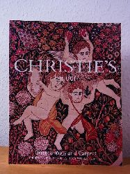 Christie`s London:  Oriental Rugs and Carpets. Property of a Member of a European Royal Family. Property of the Earl of Erne. Property of the Ambassador Ghazi Aita. Property from the Heidi Vollmoeller Collection and from various Sources. Auction 29 April 2004, Christie`s London. Sale Code: KIRMAN-6897