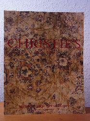 Christie`s New York:  European and Oriental Carpets. Property from Mr. Felix R. Rosenthal. Auction 17 December 2003, Christie`s New York. Sale Code: GORDON-1317
