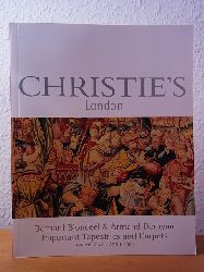 Christie`s London:  Bernard Blondeel and Armand Deroyan. Important Tapestries and Carpets. Auction 2 April 2003, Christie`s London. Sale Code: BLONDEEL-6752