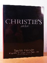 Christie`s London:  Davide Halevim. Magnificent Carpets and Tapestries. Auction 14 February 2001, Christie`s London. Sale Code: HALEVIM-6423