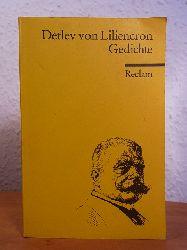 Liliencron, Detlev von - herausgegeben von Günter Heintz:  Liliencron. Gedichte