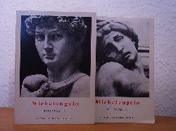 Alazard, Jean:  Michelangelo. Sculture. Tomo 1 e tomo 2