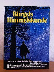 Krug, Erich (Neubearbeitung) und Bruno H. (Begründer des Werks) :  Bürgels Himmelskunde. Entdeckungsreisen zu fernen Welten