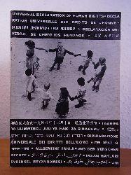 Warburg, Dr. G., B`Nai B`Rith und Miriam Warburg (Photographien und Textzusammenstellung):  Allgemeine Erklärung der Menschenrechte