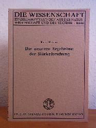 Heyns, Prof. Kurt:  Die neueren Ergebnisse der Stärkeforschung