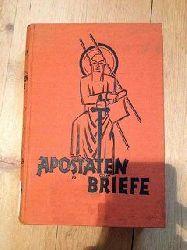 Lewin, Robert Kosmas:  Apostaten Briefe