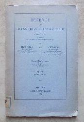 Achelis, Hans; Otto Clemen und Franz Blanckmeister  Beiträge zur sächsischen Kirchengeschichte.