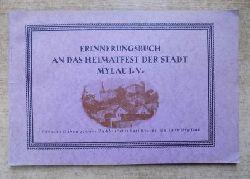 Erinnerungsbuch an das Heimatfest der Stadt Mylau i. Vogtland - 13., 14. und 15. Juni 1925.