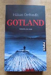 Östlundh, Hakan  Gotland - Kriminalroman.